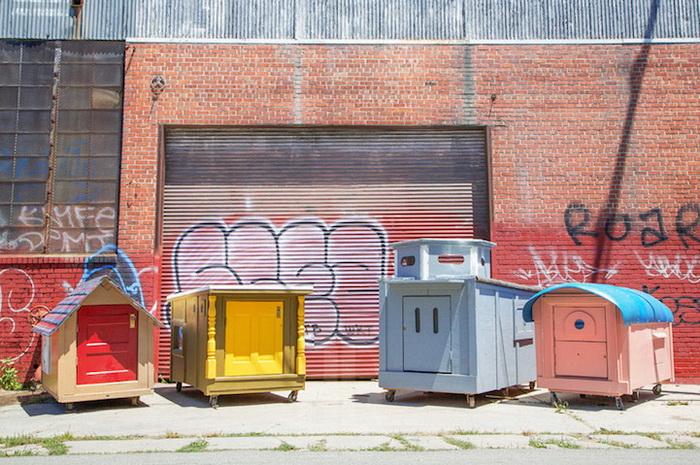 Крошечные самодельные дома от Грегори Клоена (Gregory Kloehn)