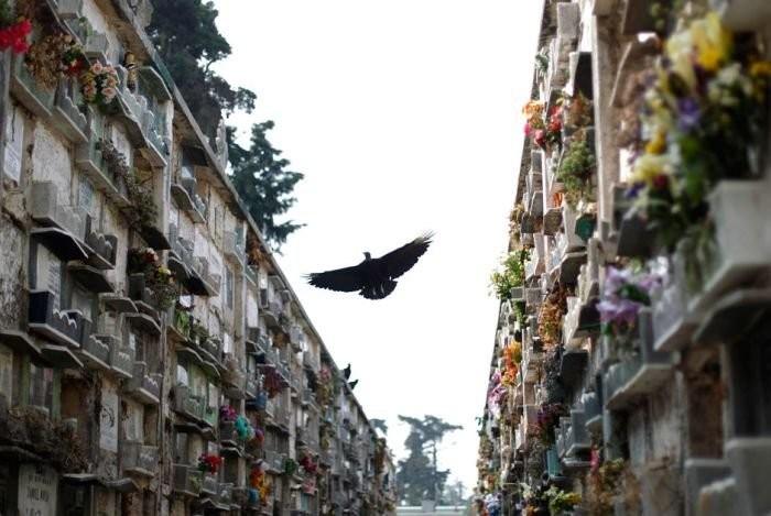 Кладбище в Гватемале