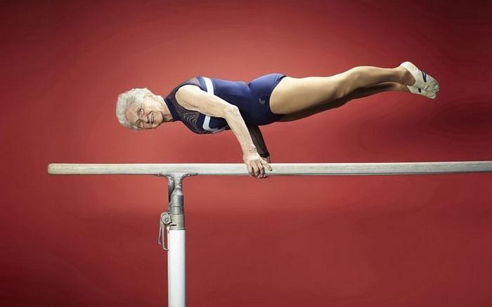 86-летняя немка Johanna Quaas стала самой пожилой гимнасткой в мире