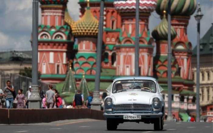 ГАЗ-21 *Волга*: автомобиль прекрасно сохранился.