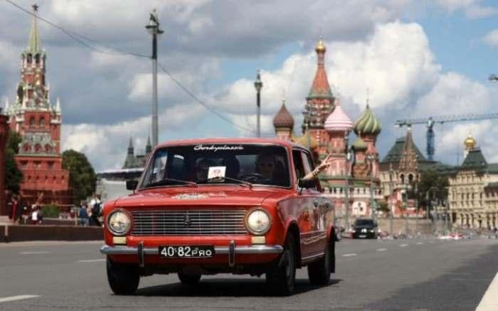 Легендарная *Копейка* - ВАЗ 2101.