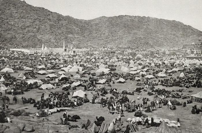 Паломнике в Мекке в 1889 году