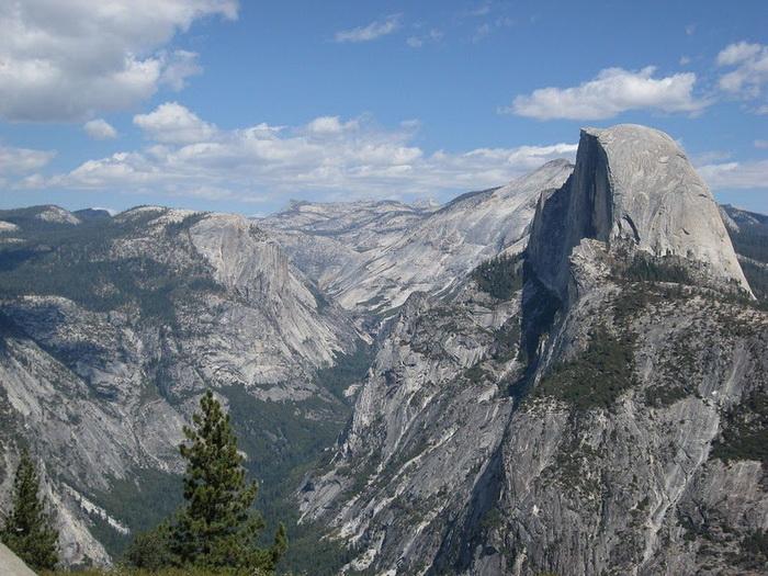 Хаф-Доум - красивейшая вершина в Йосемитском национальном парке