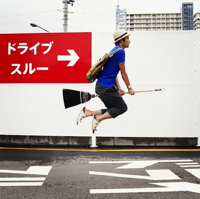 Полеты на метле. Halno - японский Гарри Поттер