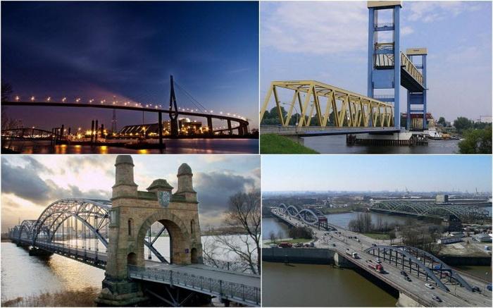 Мосты - одна из главных достопримечательностей Гамбурга