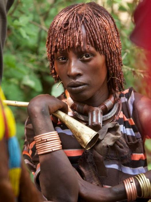 Женщина из племени хамер (Эфиопия)