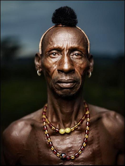 Мужчина из племени хамер (Эфиопия)
