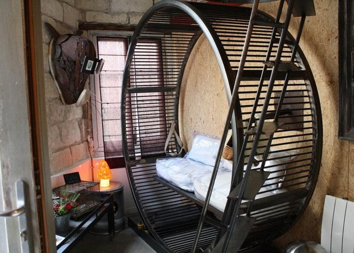 По-домашнему уютная гостиница «Вилла хомяка» (La Villa Hamster)