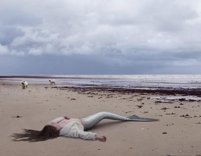 Русалка Лиза из Англии: фотопроект от Ханны Воячковой (Hana Vojackova)