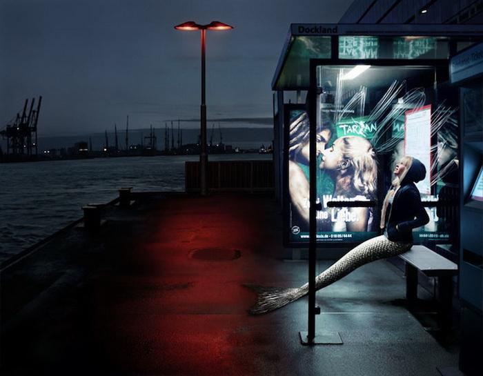 Русалка Джейми из Германии: фотопроект от Ханны Воячковой (Hana Vojackova)