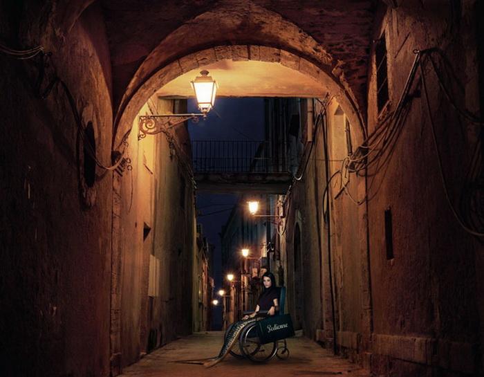 Русалка Лаура из Сицилии: фотопроект от Ханны Воячковой (Hana Vojackova)
