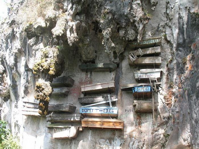 Висячие гробы (Сагада, Филиппины)