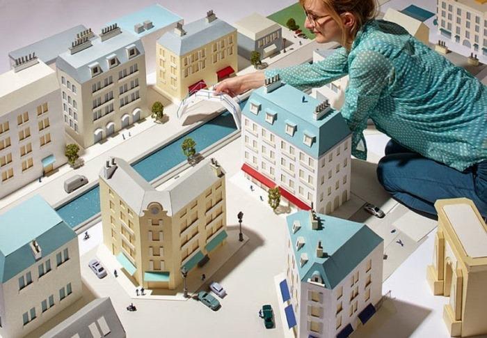 Хэтти Ньюман и ее бумажные города
