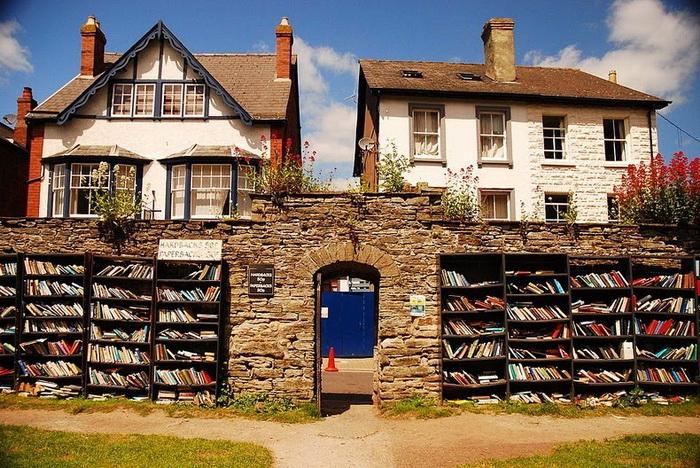 Хей-он-Уай - книжный город в Англии
