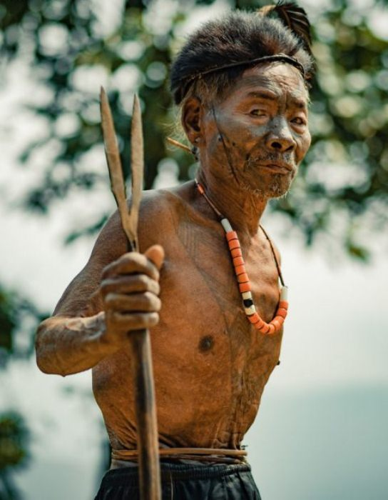 Татуировки наносились на тело мужчин как свидетельство побед над врагами.