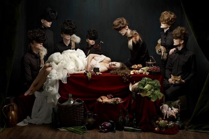 Фотографии в стиле барокко, сделанные немецкой художницей Хелен Собиральски