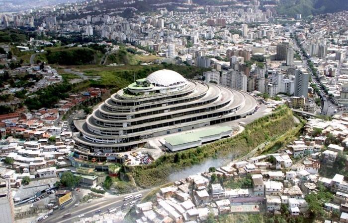 El Helicoide - самый амбициозный архитектурный проект Каракаса (Венесуэла).