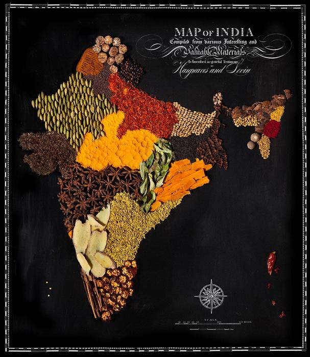 Индия из специй