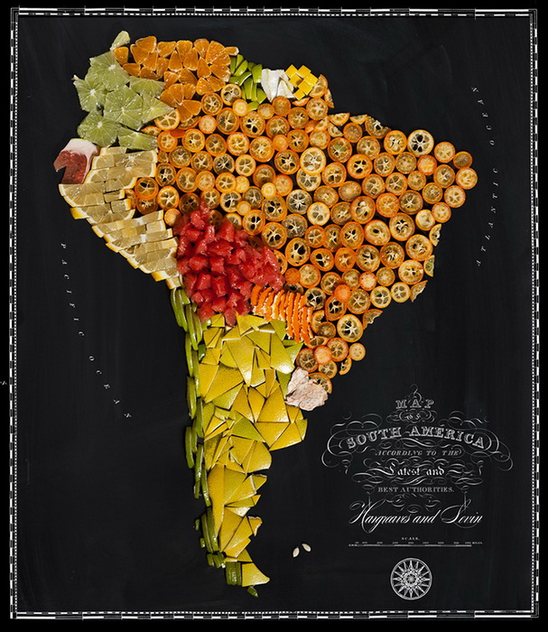 Цитрусовая Южная Америка