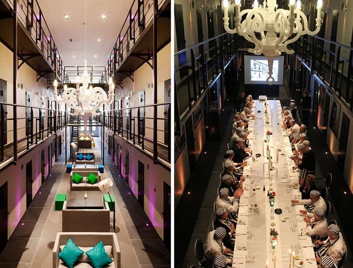 *Тюремный отель* Het Arrestuis в Нидерландах