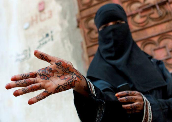 Девушка-эмигрантка из Сомали, которая проживает в Джидде.