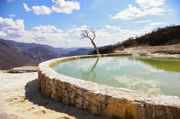 Бассейны с минеральной водой