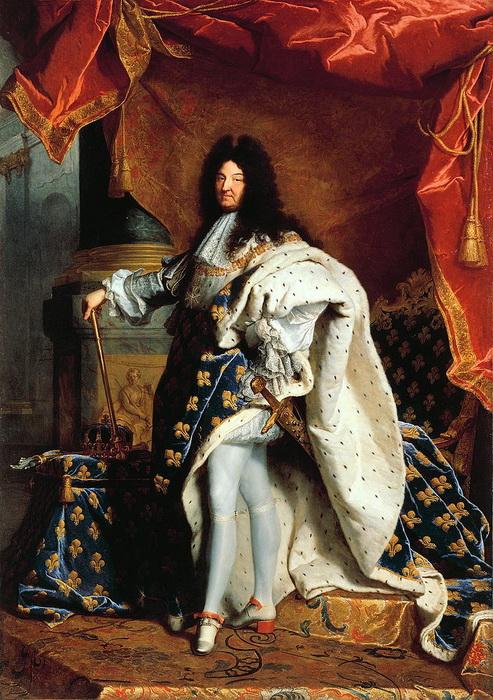Портрет Людовика XIV, 1701, Гициант Риго