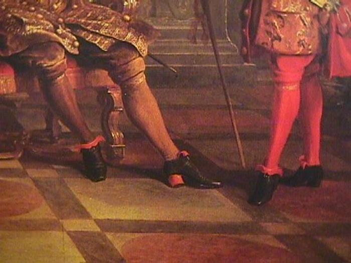 Мужские туфли при дворе Людовика XIV. Фото: fashionstime.ru
