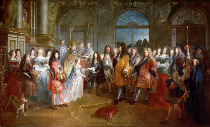 Бал при дворе Людовика XIV. Фото: anngolon-angelique.com