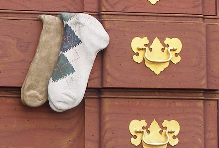 Носки - дань уважения текстильной промышленности