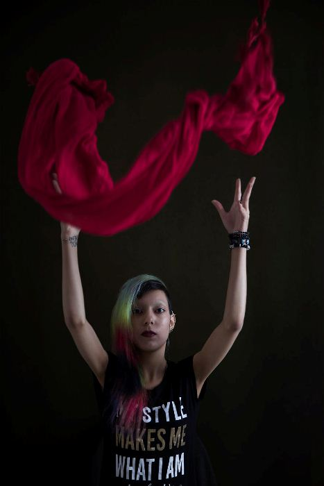 Моя тайная свобода: фотопроект о борьбе женщин в Иране за свои права.