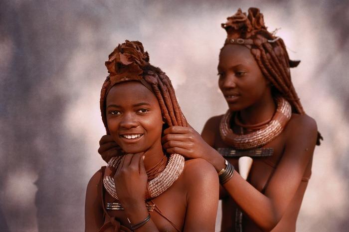 Девочки из африканского племени