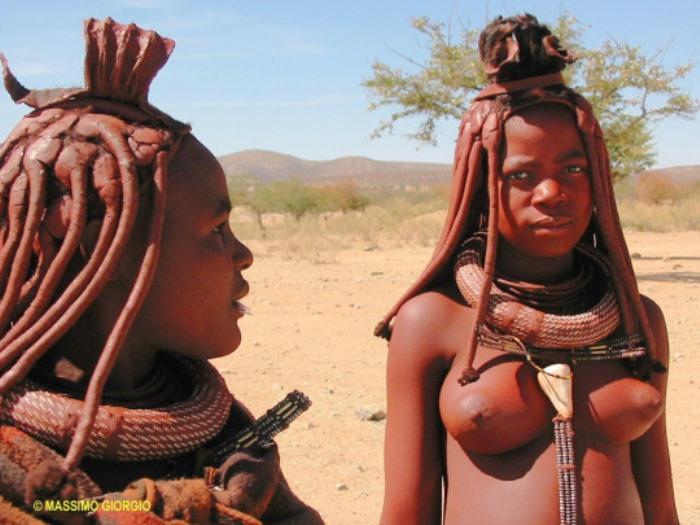 Юные замужние химба