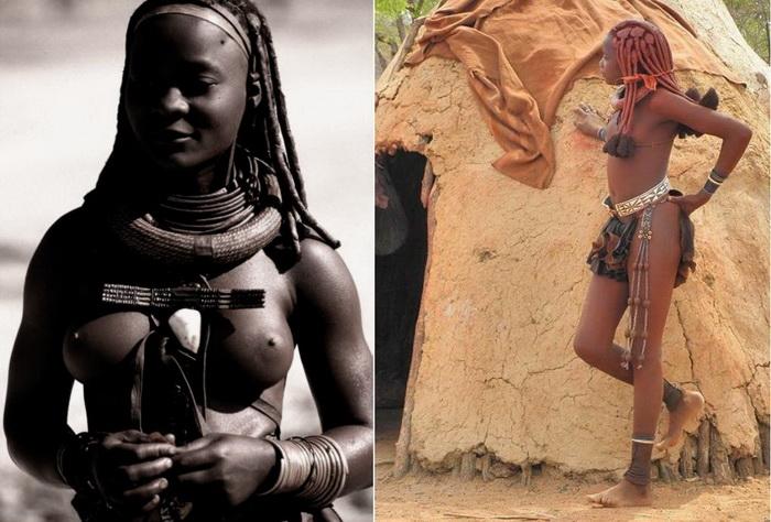 Женщины племени химба - настоящие красавицы