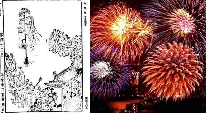 История фейерверков, неизменного атрибута Нового года