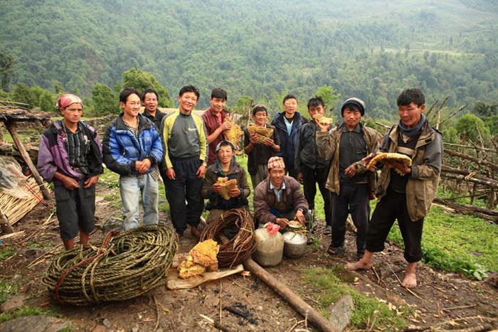 Коренные жители Непала - настоящие охотники за медом!