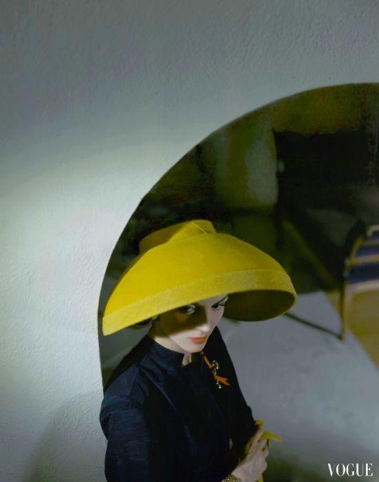 Женский портрет. Фотограф: Хорст П. Хорст.