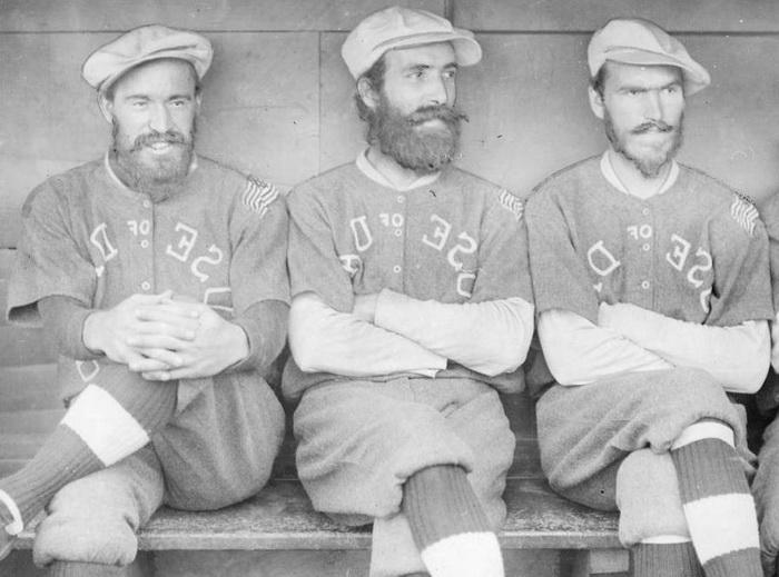 Спортсмены-бородачи