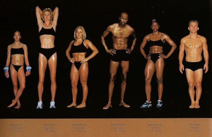Фотографии олимпийских чемпионов от Ховарда Шатца (Howard Schatz)