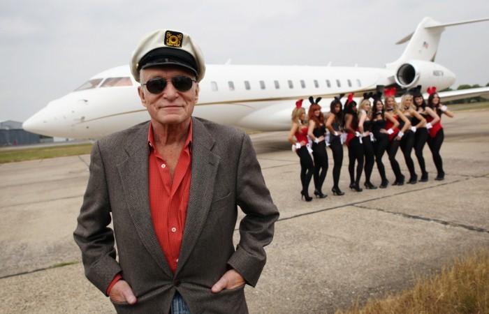 Хью Хефнер - основатель империи Playboy.
