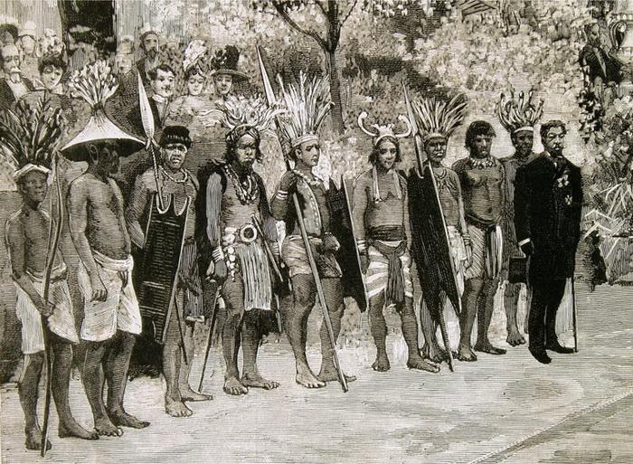 Человеческий зоопарк в Европе 19 века