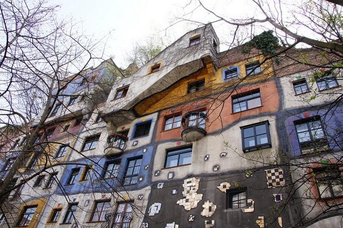 Дом Хундертвассера - визитная карточка Вены