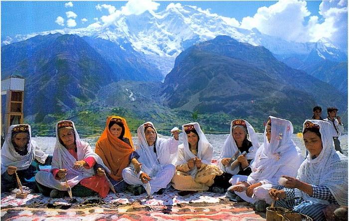 Хунзакуты - долгожители из Гималаев. Фото: interesnoznat.com