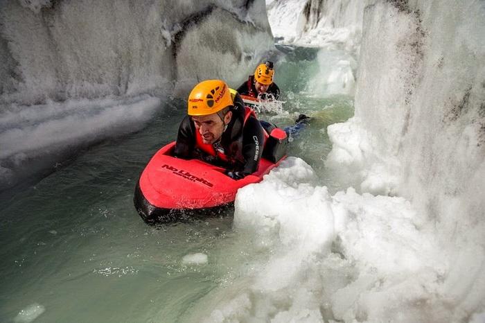 Гидроспидинг: сплав по ледяной воде