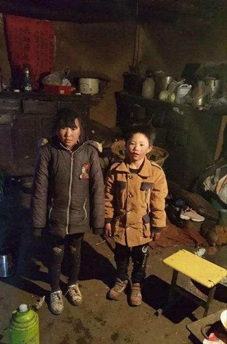 Дети живут в ужасных условиях.