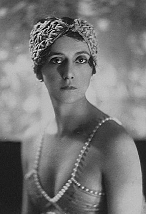 Актриса и танцовщица Ида Рубинштейн
