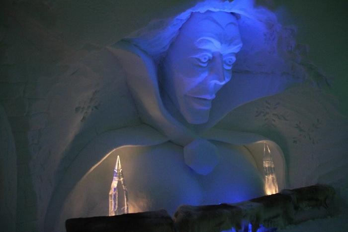 IgluLodge - ледяной отель в Альпах