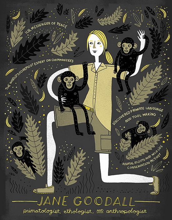 Джейн Гудолл. Посол мира ООН, приматолог, этолог и антрополог, Великобритания