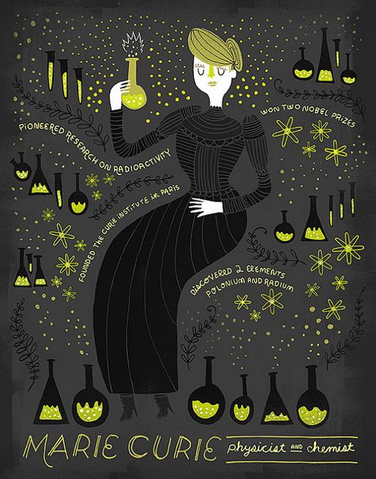 Мария Кюри. Физик, химик, педагог, общественный деятель, Франция