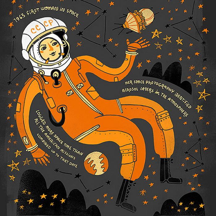 Валентина Терешкова. Инженер и первая в мире женщина-космонавт, СССР